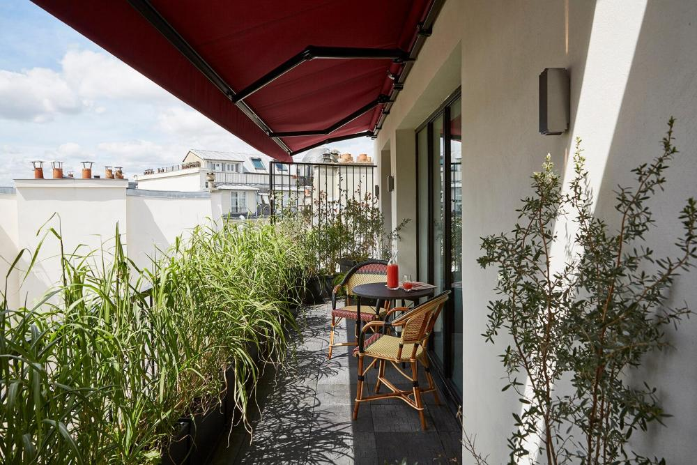 Le Roch Hotel & Spa Paris - Gallery - Terrace
