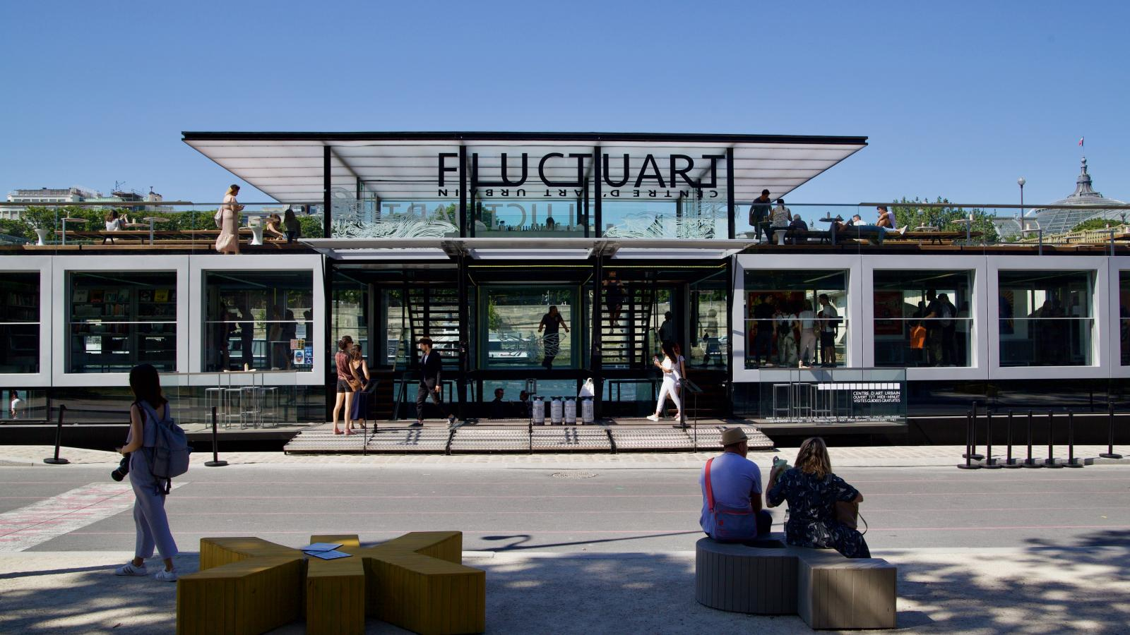 Fluctuart; the new Parisian centre dedicated to urban art